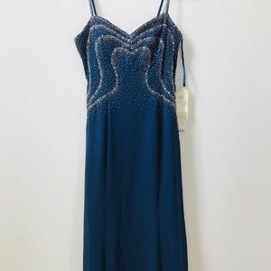 🆕 ASPEED Blue beaded gown